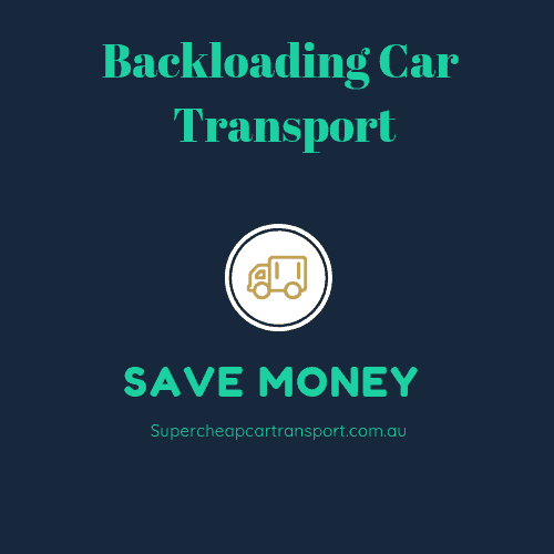 Backloading Car Transport